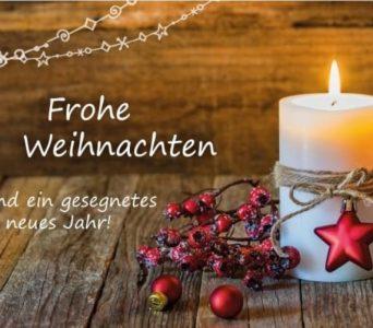 Weihnachts- und Neujahrgrüße