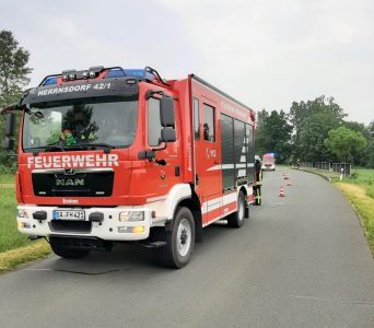 """07.06.2021 """"Straße reinigen nach VU"""""""